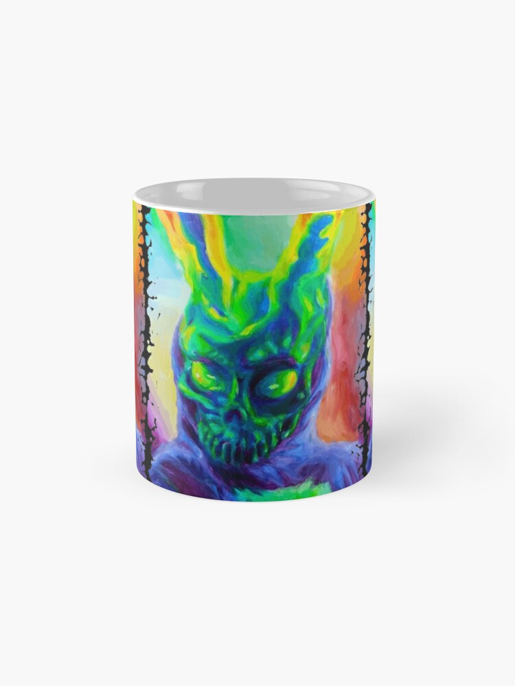 Alternate view of Burn His House Down Acrylic Painting Mug