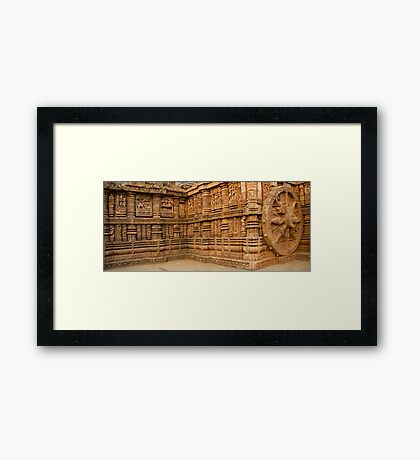 Konark Temple-3 Framed Print