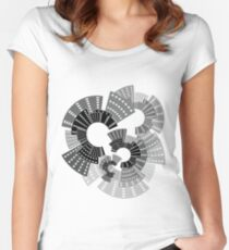 City Wheels Women's Fitted Scoop T-Shirt