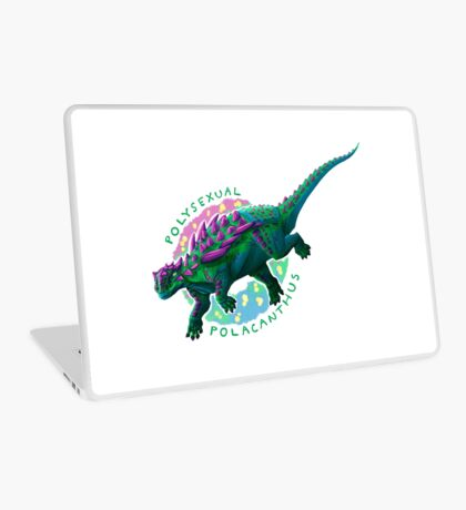 Polysexual Polacanthus (with text)  Laptop Skin