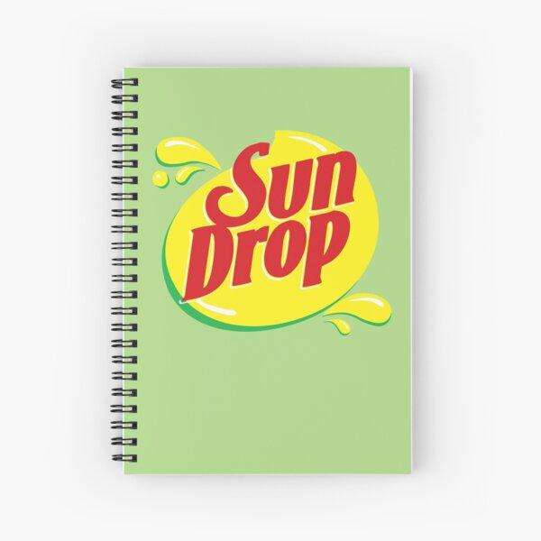 Sun drop Spiral Notebook