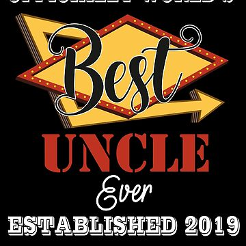 Wolrd's Best Uncle 2019 by johnlincoln2557