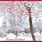 Red and White for Christmas by Nadya Johnson