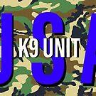 USA K9 Sticker  by Workingdogs