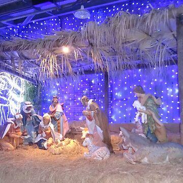 Christmas Nativity Scene  by Orikall
