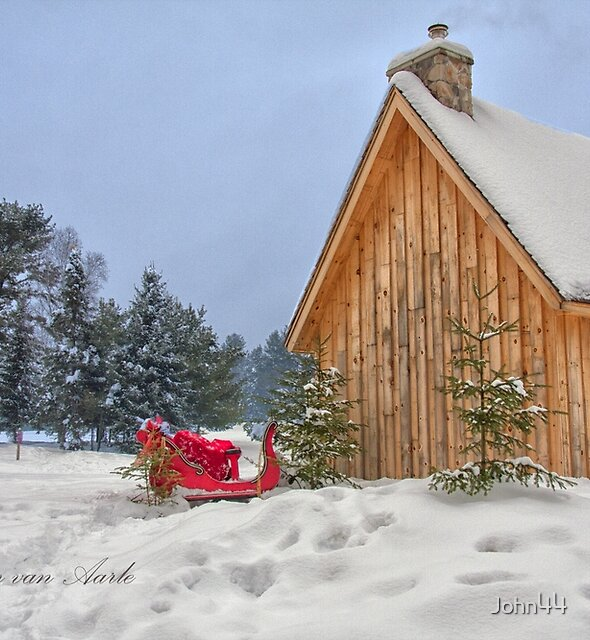 ..a Christmas home in Canada ... by John44