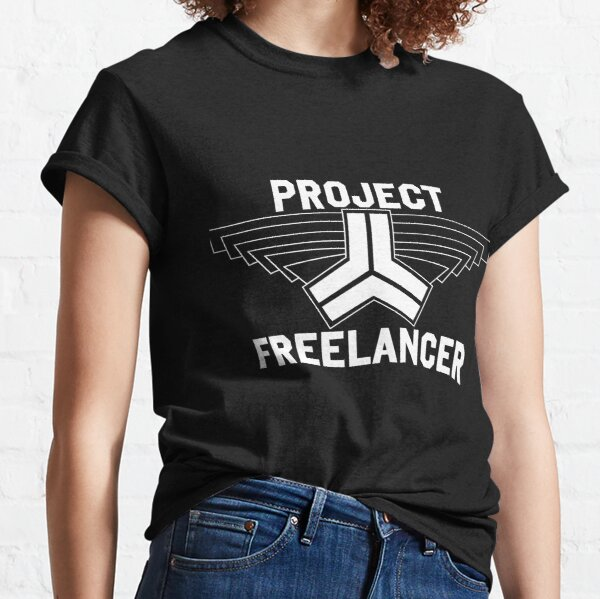 Red vs Blue: Project Freelancer (white) Classic T-Shirt