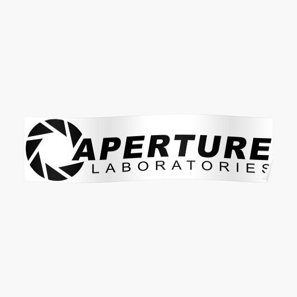 Portal 2: Aperture Science Logo Poster