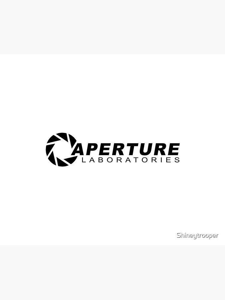 Portal 2: Aperture Science Logo by Shineytrooper