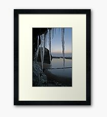 Icy Donegal Framed Print