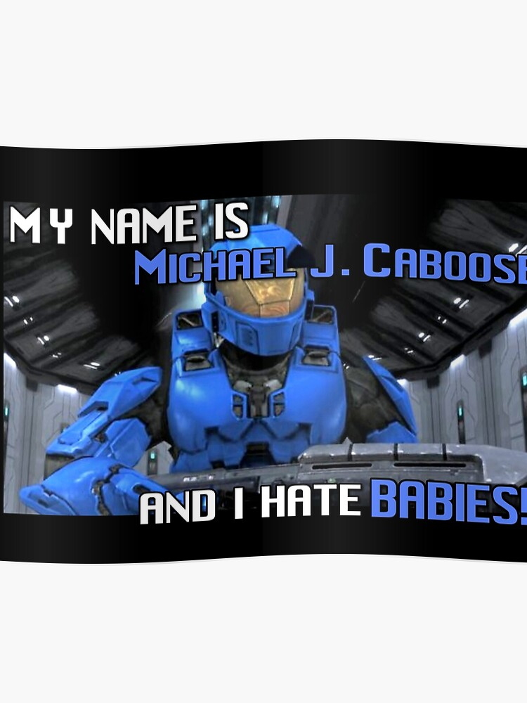 Red Vs Blue: Caboose Best Quote | Poster