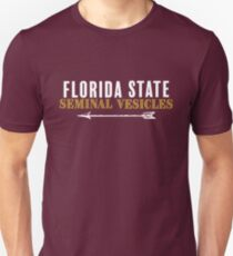 Florida State Seminal Vesicles Slim Fit T-Shirt