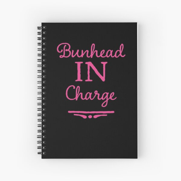 Ballet Teacher Gift - Bunhead in Charge  Spiral Notebook