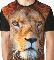 Panthera leo Graphic T-Shirt