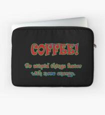 Funny One-Liner Coffee Joke Laptop Sleeve
