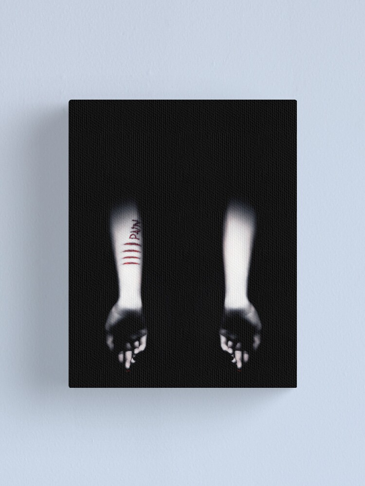 Alternate view of Pain Canvas Print