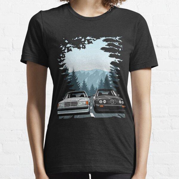 W201 190E E30 M3 Hill Climb Essential T-Shirt