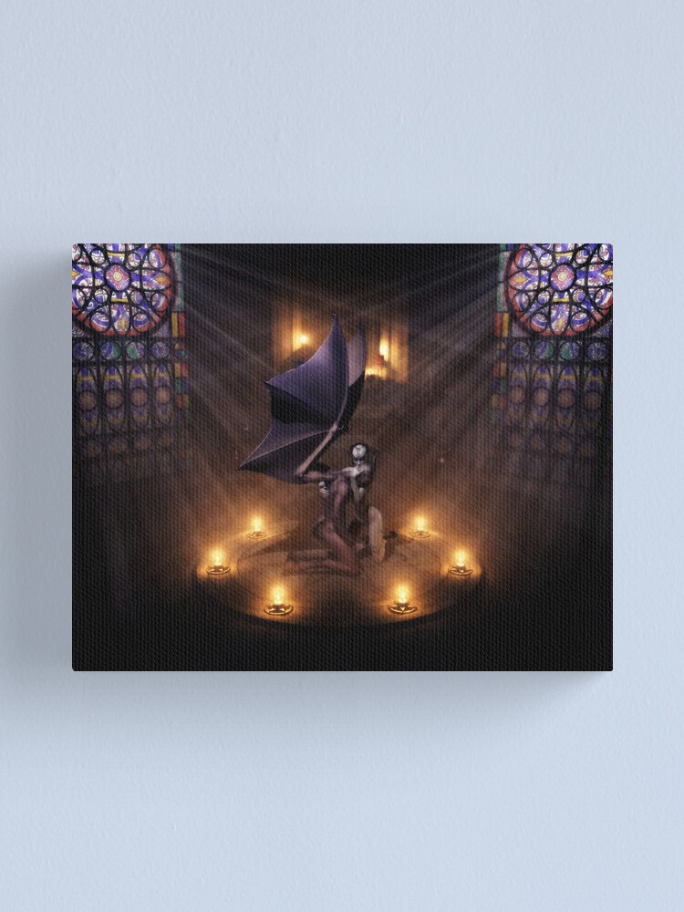 Alternate view of Redeemer Canvas Print