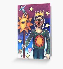 The Magus Greeting Card