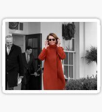 "Nancy Pelosi ""Back in Business"" Sticker"