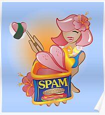 Spam - The Hawaiian Treat Poster