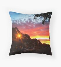 San Carlos Sunset Throw Pillow