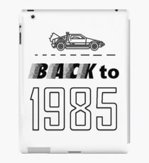 Back to 1985 iPad Case/Skin