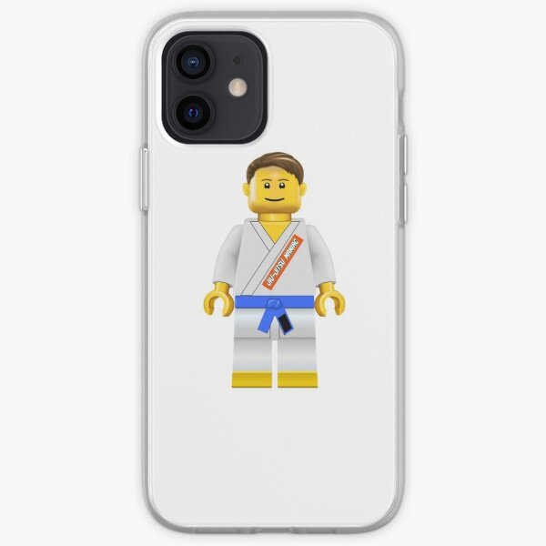 Jiu-jitsu Maniac Blue Belt iPhone Soft Case