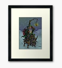Yule Father Framed Print