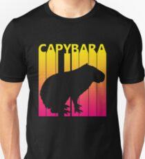 Retro 1980s Capybara Unisex T-Shirt