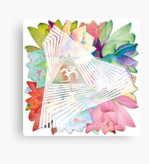 psychedelic trance Canvas Print