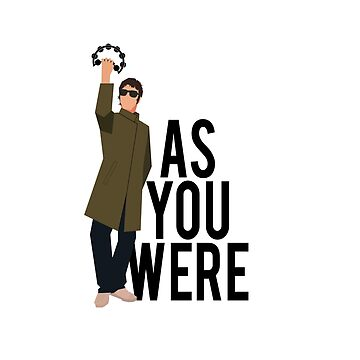 Liam Gallagher // As You Were. Cartoon Tambourine Design by DesignedByOli