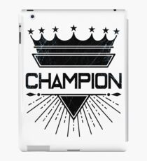 Champion iPad Case/Skin