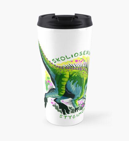 Skoliosexual Stygimoloch (with text)  Travel Mug