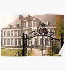 Attre Castle - Belgium Poster