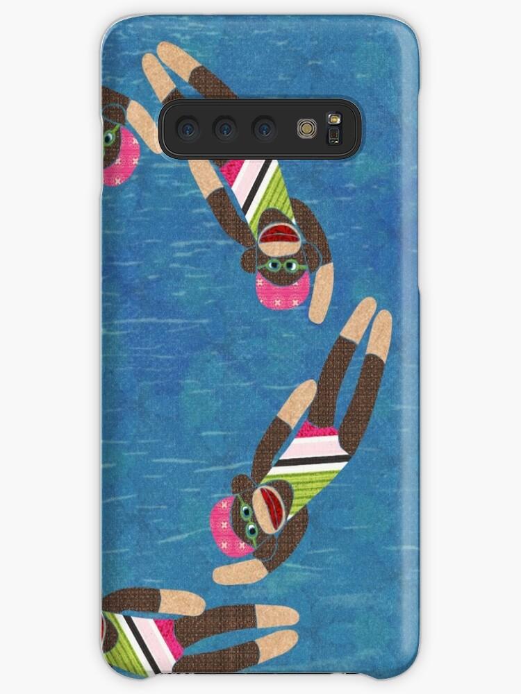 Sock Monkey Water Ballet von Janet Carlson