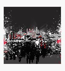 Philadelphia-Skyline Fotodruck