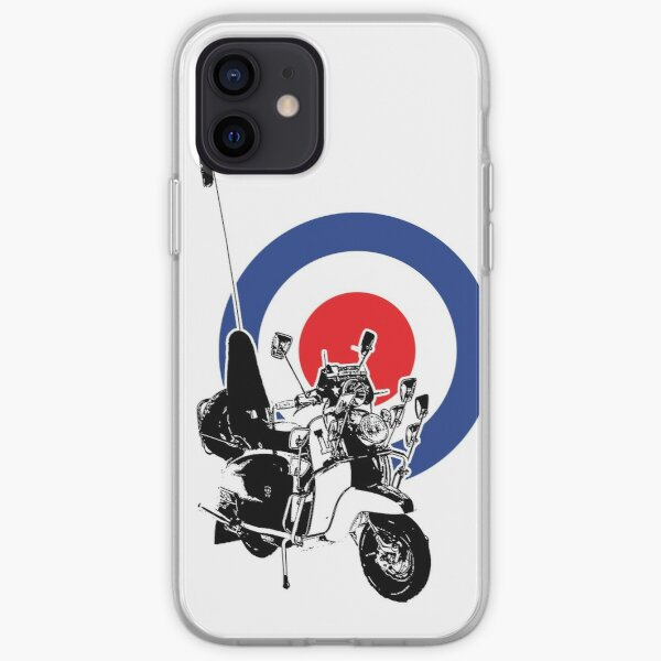 Scooter target - Mods 2 iPhone Soft Case