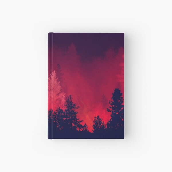 Red Wilderness  Hardcover Journal