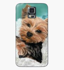Chewie the Adorable Yorkie Case/Skin for Samsung Galaxy