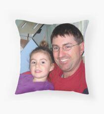 Eliza and Gary Throw Pillow