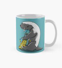 Honey badger knitting Mug