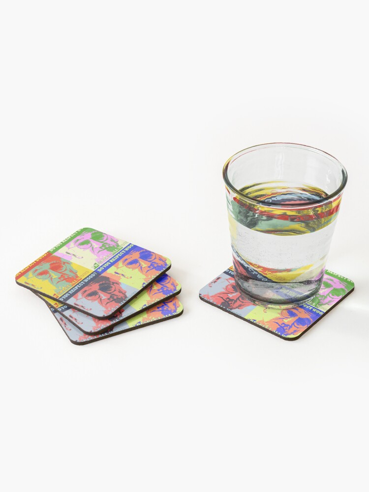 Alternate view of Respect All Wood Coasters (Set of 4)