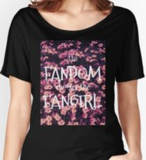The Fandom Chooses the Fangirl Women's Relaxed Fit T-Shirt