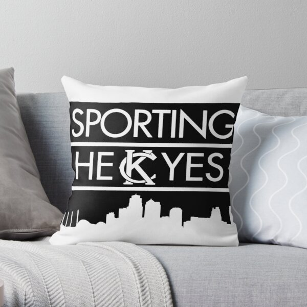 SPORTING HEKCYES Throw Pillow