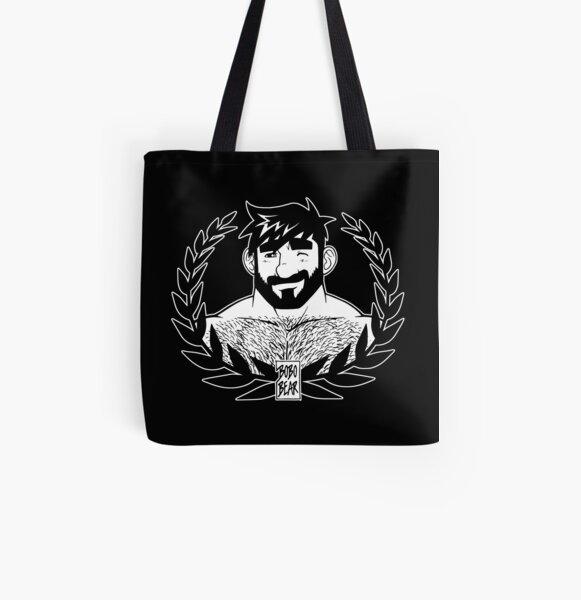 ADAM LIKES LAUREL All Over Print Tote Bag