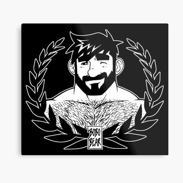 ADAM LIKES LAUREL Metal Print