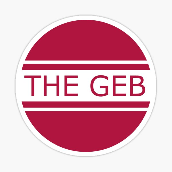 The Geb Band - Raleigh, NC Band Sticker