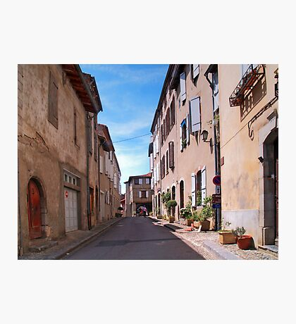 Saint-Lizier Street Photographic Print