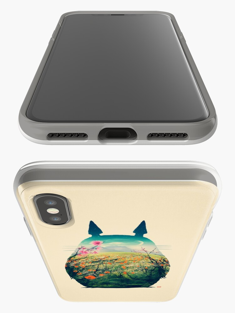 Alternate view of Tonari No Totoro iPhone Case & Cover